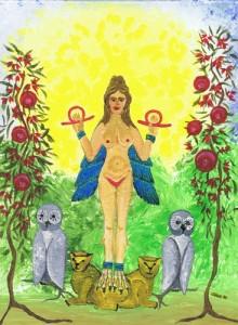 Inanna - Weisheit und Kraft